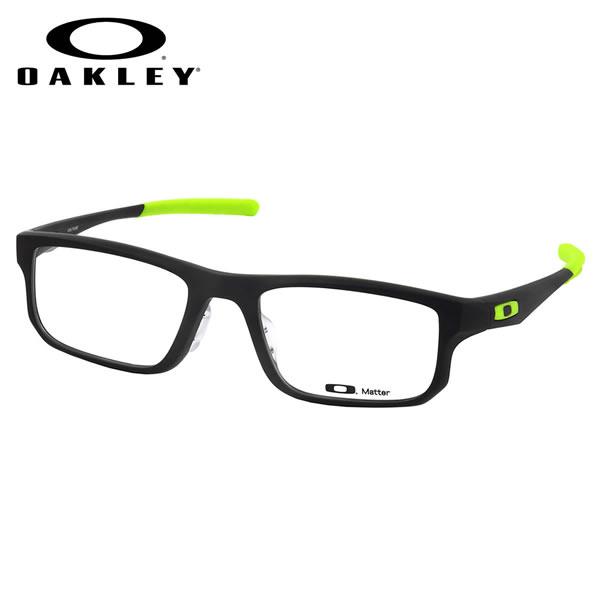 【オークリー】 (OAKLEY) メガネOX8066-0755VOLTAGE ASIA FIT Satin Black Retina Burnボルテージ アジアフィット スクエアOAKLEY 伊達メガネレンズ無料 メンズ レディース