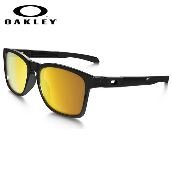 【OAKLEY】(オークリー) サングラス OO9272-04 CATALYST Polished Black 24k Iridium カタリスト スポーツ オークリー OAKLEY メンズ レディース