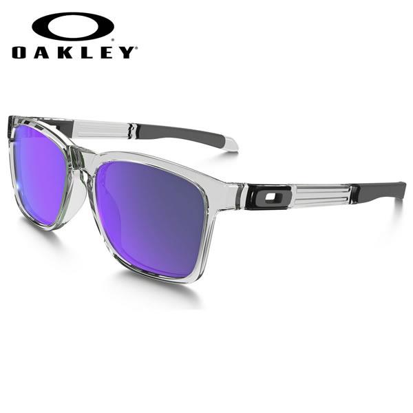 オークリー サングラス カタリスト OAKLEY OO9272-05 CATALYST Polished Clear / Violet Iridium オークレー ミラー ブルーレンズ メンズ レディース