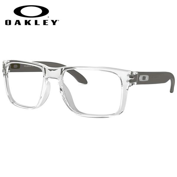 オークリー OAKLEY メガネOX8156-03-54HOLBROOK RX ホルブルック スクエア 透明Clear オークレー かっこいい 近視 乱視 遠視 老眼伊達メガネレンズ無料 メンズ レディース