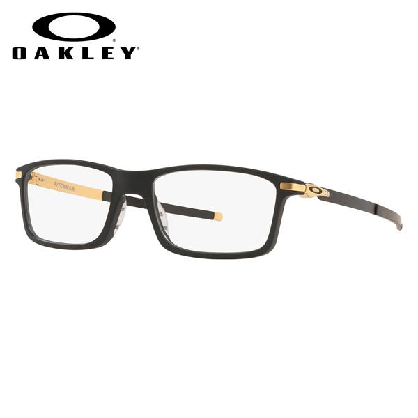 オークリー OAKLEY メガネ OX8050-14-53 PITCHMAN ピッチマン Satin Black/Gold メンズ レディース