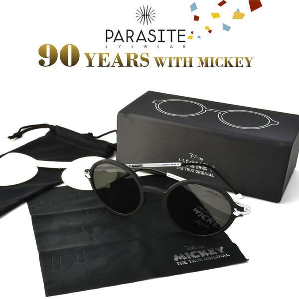 PARASITE パラサイト サングラス MICKEY 3SET ミッキー90周年記念モデル ディズニー ミッキーマウス レア 3本セット コレクターボックス メンズ レディース
