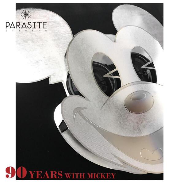 【PARASITE】(パラサイト) サングラス MICKEY MASK ミッキー90周年記念モデル ディズニー ミッキーマウス レア マスク 仮面 ゴーグル パラサイト PARASITE ミッキー メンズ レディー