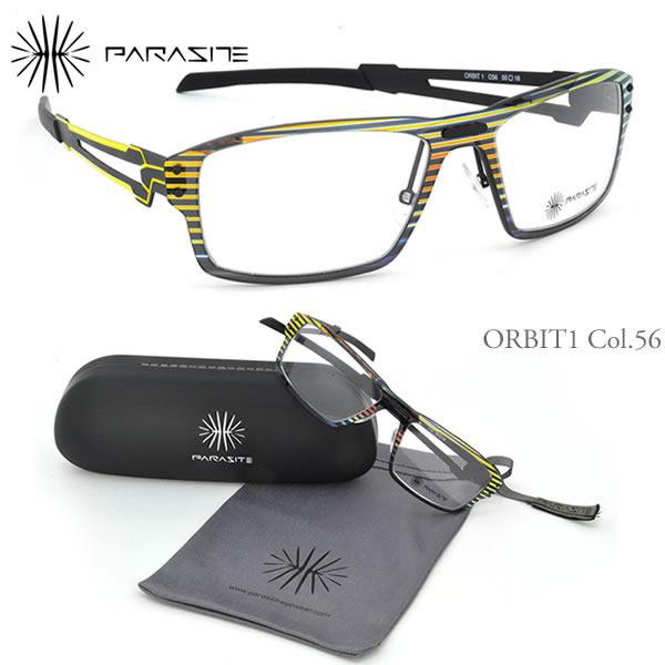 【パラサイト メガネフレーム】PARASITE ORBIT 1 C56:顔に寄生するアイウェア!?