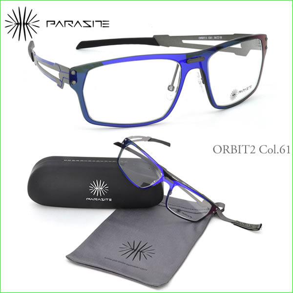 【パラサイト メガネフレーム】PARASITE ORBIT 2 C61:顔に寄生するアイウェア!?