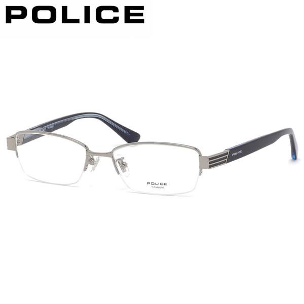 ポリス POLICE メガネ VPL974J 0S11 53サイズ