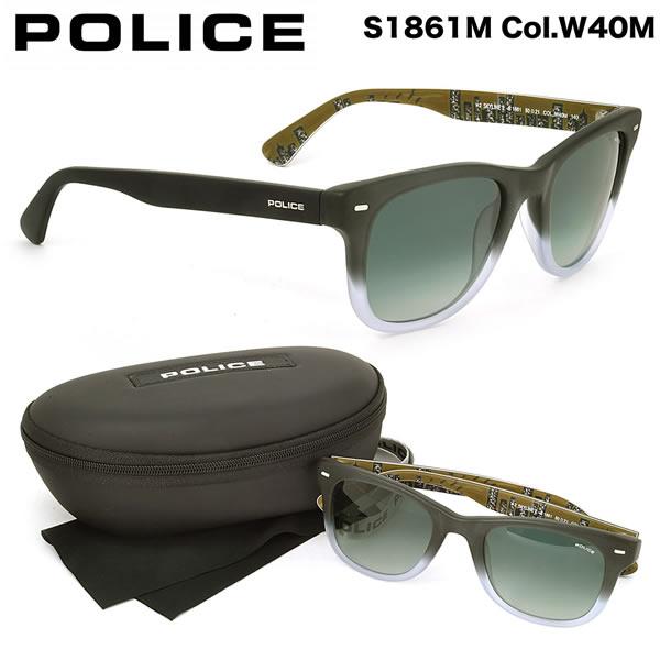 【POLICE】ポリス サングラス S1861M W40M 50サイズ ポリス POLICE メンズ レディース