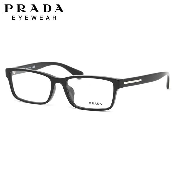 【PRADA】(プラダ) メガネ フレーム PR01SV 1AB1O1 56サイズ スクエア アジアンフィット プラダ PRADA メンズ レディース