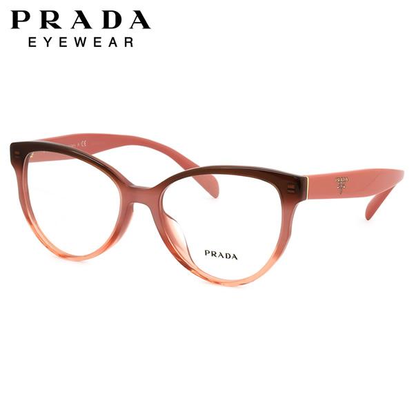 プラダ PRADA メガネPR01UVF VX51O1 54サイズフォックス フルフィット プラダ PRADA メンズ レディース