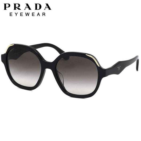 プラダ PRADA サングラスPR06USF 1AB0A7 54サイズヘキサゴン モード デミ ノーブル ラグジュアリープラダ PRADA メンズ レディース