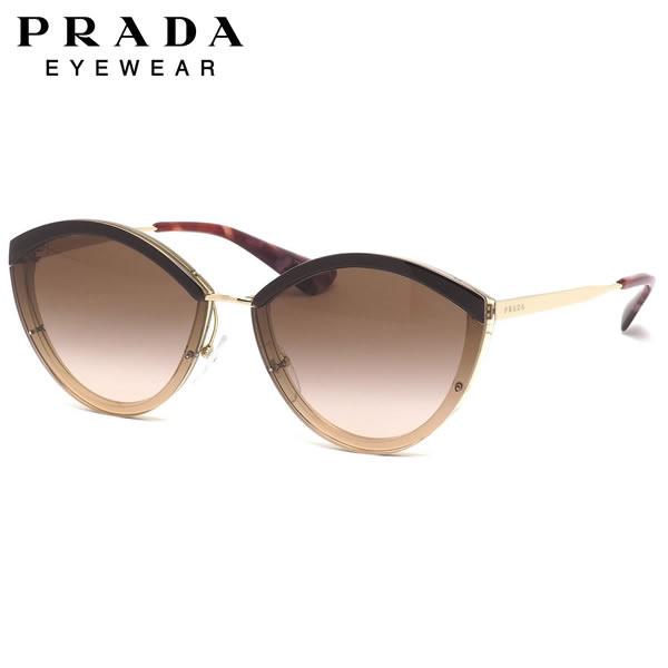 プラダ PRADA サングラスPR07US KOF0A6 64サイズシネマ ブロー トランスパレント グラデーション プラダ PRADA メンズ レディース