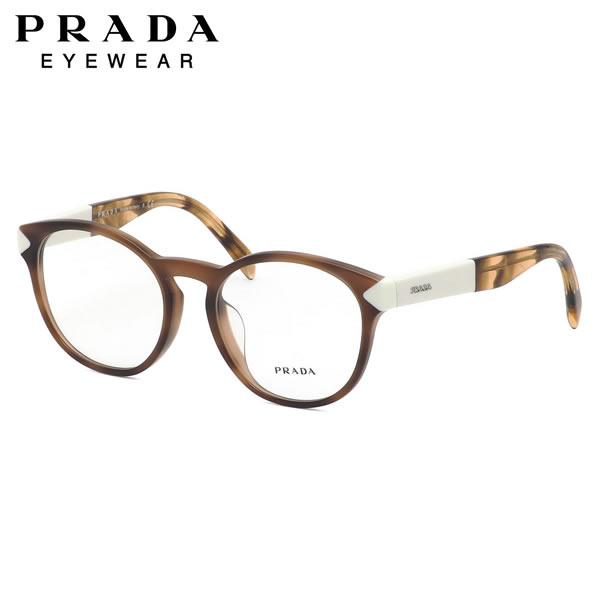 プラダ PRADA メガネPR16TVF USG1O1 52サイズラウンド フルフィット プラダ PRADA メンズ レディース