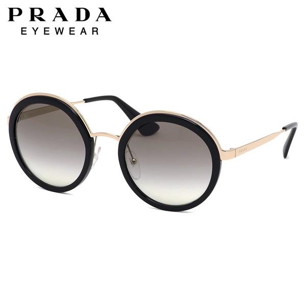 プラダ PRADA サングラスPR50TS 1AB0A7 54サイズラウンド ボストン ラグジュアリー ノーブル モード ソフト枠プラダ PRADA メンズ レディース