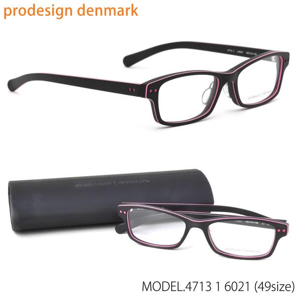 prodesign:denmark プロデザインデンマーク メガネ フレーム 4713-1 6021 49 北欧 スクエア 伊達メガネレンズ無料 プロデザインデンマーク prodesign:denmark メンズ レディース LOS30