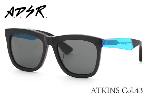 【A.D.S.R.】 (エーディーエスアール) サングラス ATKINS 43 56サイズ エーディーエスアール ADSR メンズ レディース【Px20】