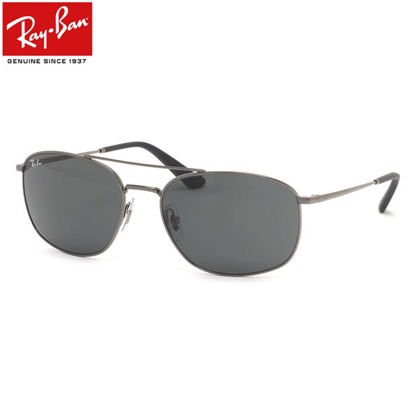 Ray-Ban レイバン サングラス RB3654 004/87 60サイズ ツーブリッジ ダブルブリッジ メンズ レディース