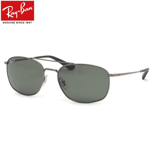 Ray-Ban レイバン サングラス RB3654 004/9A 60サイズ ツーブリッジ ダブルブリッジ 偏光レンズ メンズ レディース