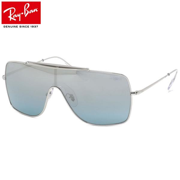 Ray-Ban レイバン サングラス RB3697 003/Y0 135サイズ WINGSII ウイングス2 1枚レンズ ワンシールド グラデーション ミラー シルバー かっこいい メンズ レディース