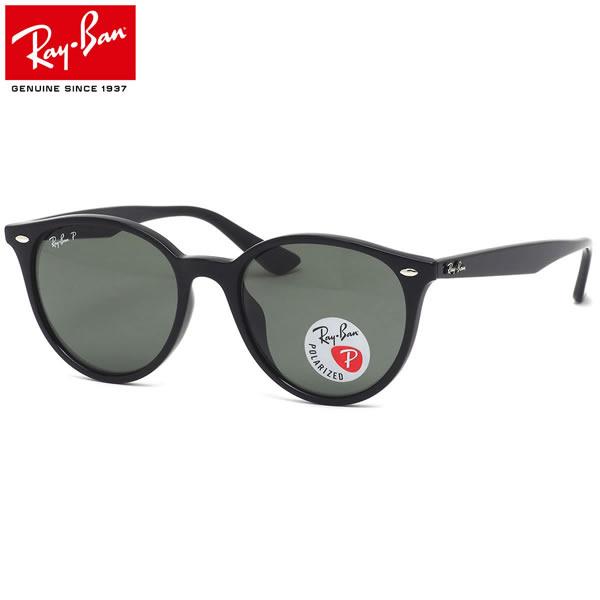 Ray-Ban レイバン サングラス RB4305F 601/9A 53サイズ HIGHSTREETシリーズ ハイストリート 偏光レンズ ポラライズドレンズ ラウンド made in Italy レディースモデル