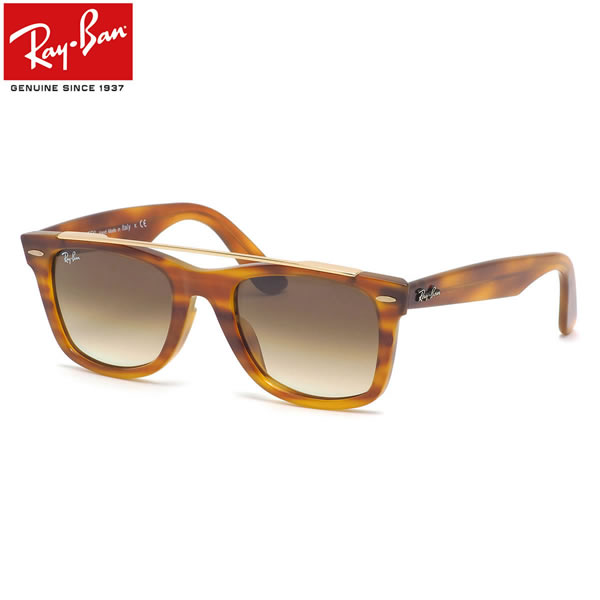 Ray-Ban レイバン サングラスRB4540F 641351 52サイズWAYFARER COLOR MIX ウェイファーラー カラーミックス ICONS アイコン フルフィット グラディエントカラーレンズメンズ レディース