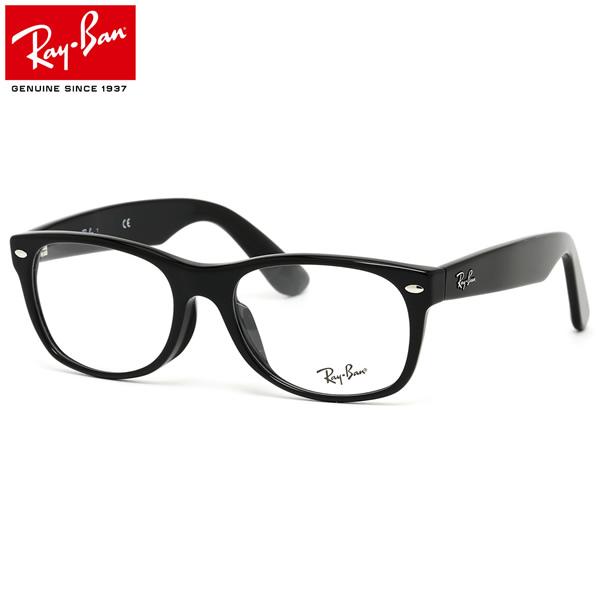 レイバン ニュー ウェイファーラー メガネ フレーム Ray-Ban RX5184F 2000 52サイズ フルフィット レイバン RAYBAN NEW WAYFARER メンズ レディース