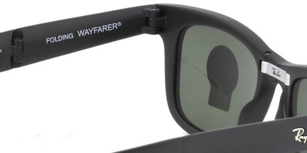 2b6d7f53a ... (Ray-Ban) Wayfarer folding sunglasses RB4105 601S 50 size folding Ray- Ban ...