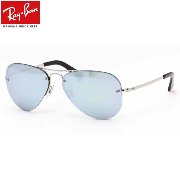 レイバン サングラス Ray-Ban RB3449 003/30 59サイズレイバン RAYBAN 00330 AVIATOR アビエーター ツーブリッジ ダブルブリッジ フチなし ツーポイント ティアドロップ メンズ レディース