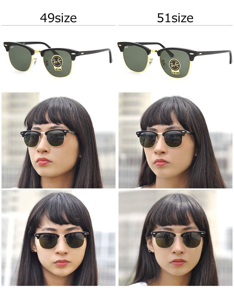 ray ban clubmaster 49