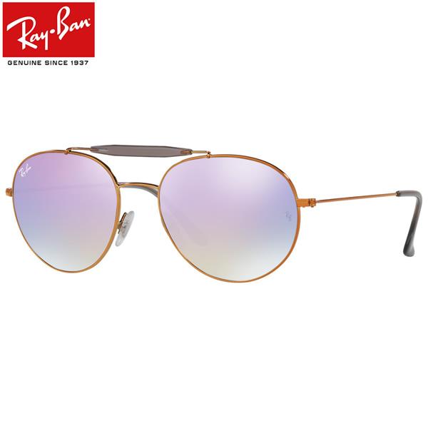 レイバン サングラス ミラー Ray-Ban RB3540 198/7X 53サイズレイバン RAYBAN 1987X OUTDOORSMAN アウトドアーズマン ツーブリッジ ダブルブリッジ ROUND ラウンド ボストン 丸メガネ ミラー メンズ レディース