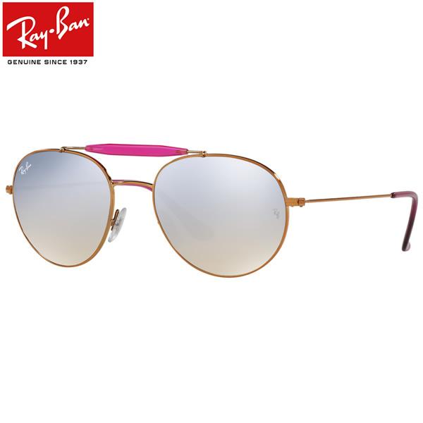 レイバン サングラス ミラー Ray-Ban RB3540 198/9U 53サイズレイバン RAYBAN 1989U OUTDOORSMAN アウトドアーズマン ツーブリッジ ダブルブリッジ ROUND ラウンド ボストン 丸メガネ ミラー メンズ レディース