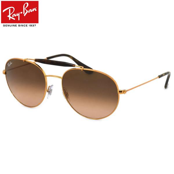 Ray-Ban レイバン サングラスRB3540 9001A5 53サイズ 56サイズRAYBAN OUTDOORSMAN アウトドアーズマン ツーブリッジ ダブルブリッジ ROUND ラウンド ボストン 丸メガネレイバン RayBan メンズ レディース