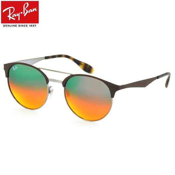 レイバン サングラス ミラー Ray-Ban RB3545 9006A8 51サイズ 54サイズレイバン RAYBAN FLASH LENSES GRADIENT 9006/A8 ツーブリッジ ダブルブリッジ ROUND ラウンド 丸メガネ ミラー メンズ レディース