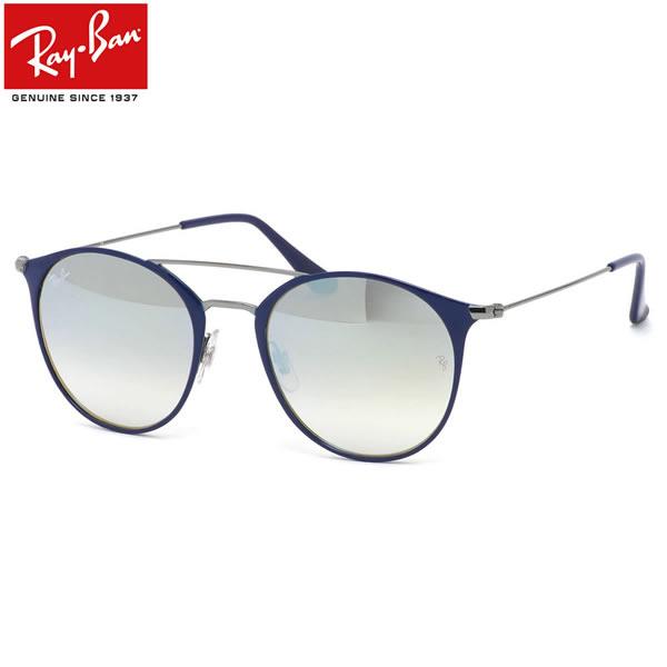 レイバン サングラス ミラー Ray-Ban RB3546 90109U 49サイズ 52サイズレイバン RAYBAN FLASH LENSES GRADIENT 9010/9U ツーブリッジ ダブルブリッジ ROUND ラウンド 丸メガネ ミラー メンズ レディース