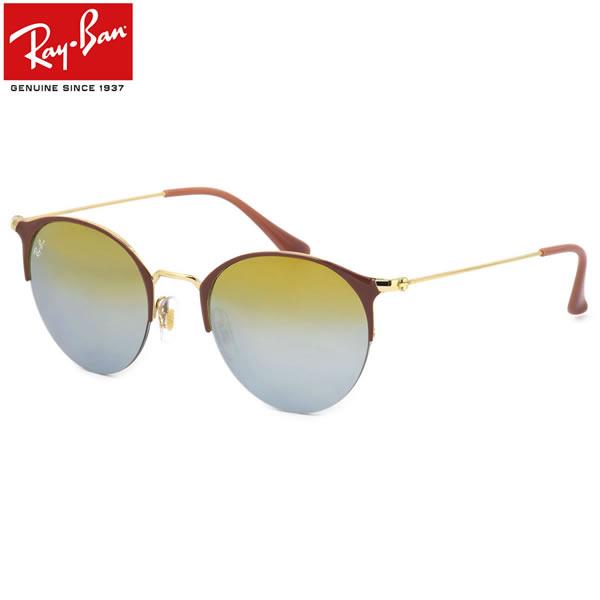 Ray-Ban レイバン サングラスRB3578 9011A7 50サイズHIGHSTREET ハイストリート 丸メガネ ポストン ミラー ブロー ラウンド レイバン RayBan メンズ レディース