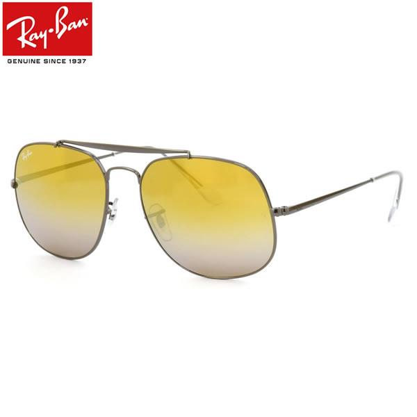 Ray-Ban レイバン サングラスRB3561 004/I3 57サイズTHE GENERAL ザ・ジェネラル アビエーター スクエア グラデーションミラーレイバン RayBan メンズ レディース