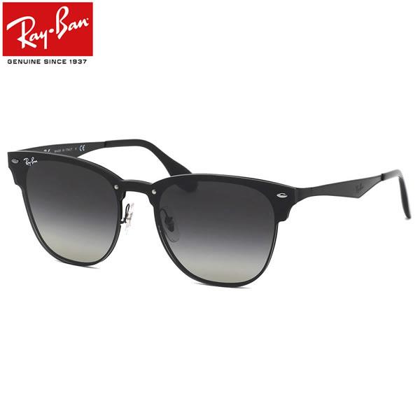 Ray-Ban レイバン サングラスRB3576N 153/11 141サイズ 147サイズBLAZE CLUBMASTER ブレイズ クラブマスター ミラー フラット 1枚レンズ ブローレイバン RayBan メンズ レディース