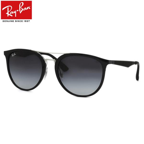 Ray-Ban レイバン サングラスRB4285 601/8G 55サイズフラットメタル ツーブリッジ ラウンド RUBBER ラバーレイバン RayBan メンズ レディース
