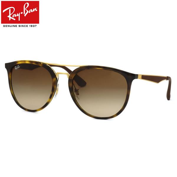 Ray-Ban レイバン サングラスRB4285 710/13 55サイズフラットメタル ツーブリッジ ラウンド RUBBER ラバーレイバン RayBan メンズ レディース