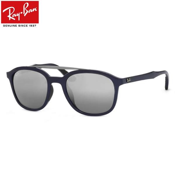 Ray-Ban レイバン サングラスRB4290F 619788 53サイズACTIVE LIFESTYLE アクティブ ライフスタイルダブルブリッジ トレンド ユニーク MATERIAL COMBINATION マテリアル コンビネーション ミラーレイバン RayBan メンズ レディース