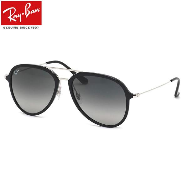 Ray-Ban レイバン サングラスRB4298 601/71 57サイズHIGHSTREET ハイストリート ダブルブリッジ ティアドロップトレンド MATERIAL COMBINATION マテリアル コンビネーション レイバン RayBan メンズ レディース