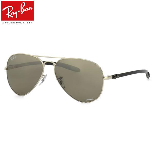 Ray-Ban レイバン サングラスRB8317CH 003/5J 58サイズCHROMANCE TECH クロマンス テック 偏光 カーボン ツーブリッジレイバン RayBan メンズ レディース