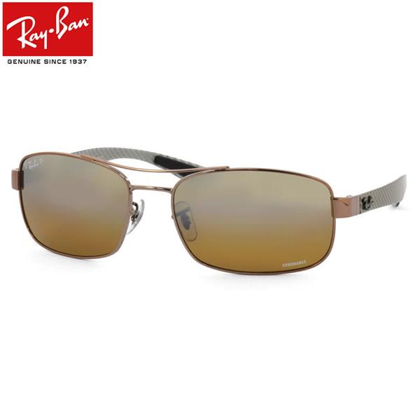 Ray-Ban レイバン サングラスRB8318CH 121/A2 62サイズCHROMANCE クロマンス 偏光 カーボン ツーブリッジレイバン RayBan メンズ レディース