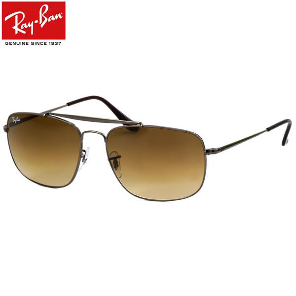 Ray-Ban レイバン サングラスRB3560 004/51 58サイズ 61サイズCOLONEL コロネル 大佐 ツーブリッジ ダブルブリッジ ブラウンレンズレイバン RayBan メンズ レディース