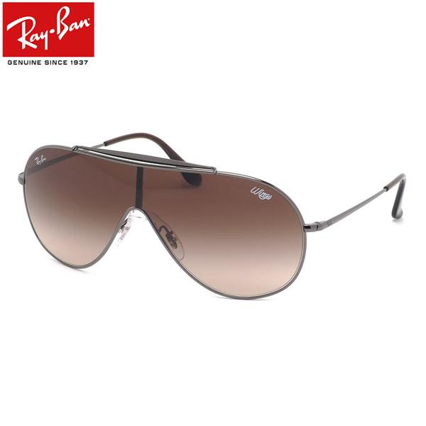 Ray-Ban レイバン サングラスRB3597 004/13 133サイズWINGSウイングスBLAZEブレイズ 1枚レンズ ワンシールドグラデーションメンズ レディース