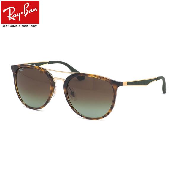 Ray-Ban レイバン サングラスRB4285 6372E8 55サイズフラットメタル ツーブリッジ ダブルブリッジ ラウンド RUBBER ラバー マットメンズ レディース