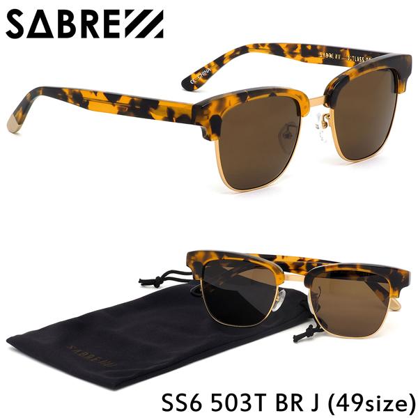 セイバー SABRE サングラスSS6-503 T-BR-J 49サイズCUTLASS カトラス ブロー コンビネーションセイバー SABRE メンズ レディース