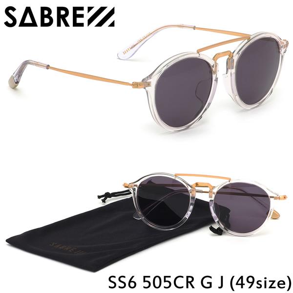 セイバー SABRE サングラスSS6 505CR G J 49サイズTORINO トリノ ストリート ツーブリッジ コンビネーションセイバー SABRE メンズ レディース