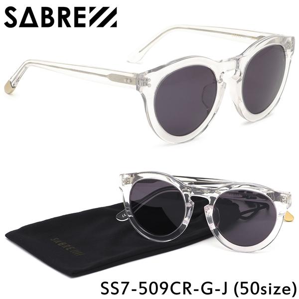 セイバー SABRE サングラスSS7-509 CR-G-J 50サイズSHELBY シェルビー ボストン シンプル クラシカル モダン トレンドセイバー SABRE メンズ レディース