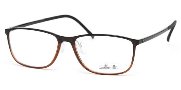 (Silhouette) SPX ILLUSION FULLRIM glasses frame 2888/12 6054 53 size Wellington super lightweight Silhouette Silhouette SPX illusion limu men women