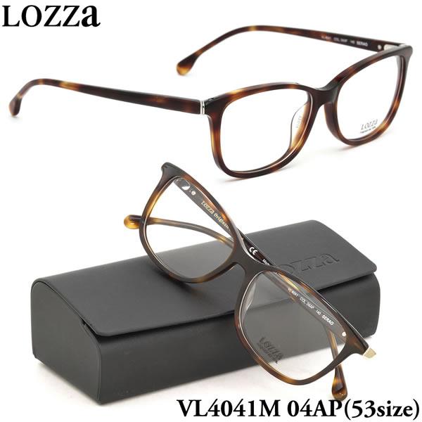 【LOZZA】ロッツァ 眼鏡 メガネ フレーム VL4041M 04AP 53サイズ SERAO ボストン メンズ レディース
